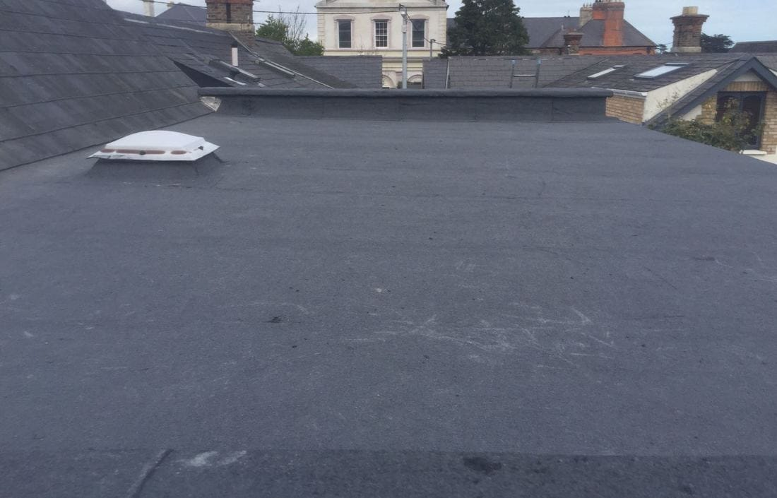 After Flat Roof Repairs