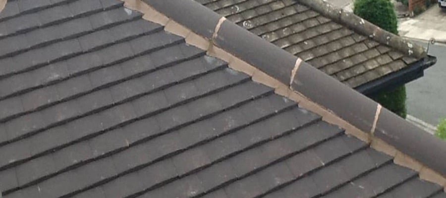 Ridge Cap Pointing and Repairs