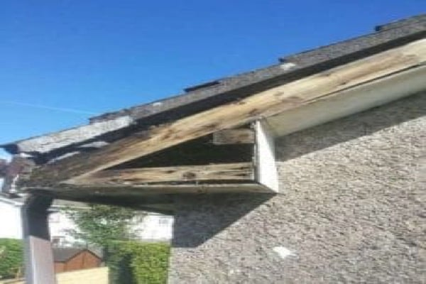 Rotted PVC Fascia and Soffit Liverpool